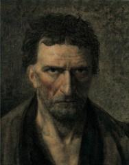Theodore Gericault, Le medecin chef de l'asile de Bouffon, olio su tela, cm 44x35x2, Collezione privata