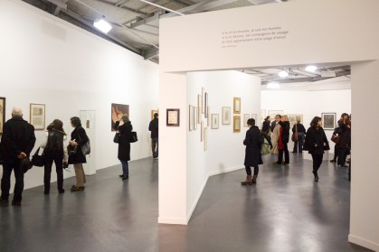 Veduta della mostraUnder Influences, La Maison Rouge Fondation Antoine De Galbert, Parigi