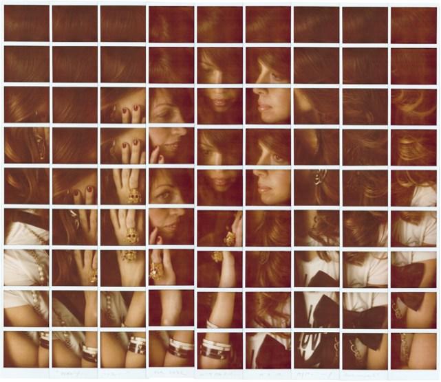 Maurizio Galimberti, Benny, 2012, mosaico polaroid, cm 87x85