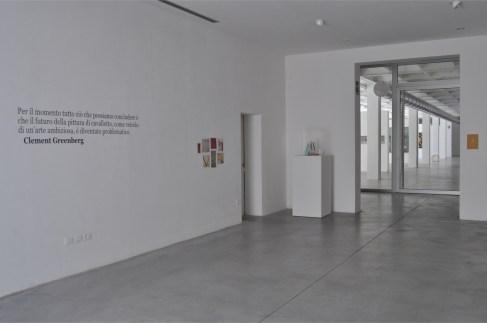 (P)arerga & (P)aralipomena della (P)ittura, veduta della mostra, BonelliLAB, Canneto sull'Oglio (MN)