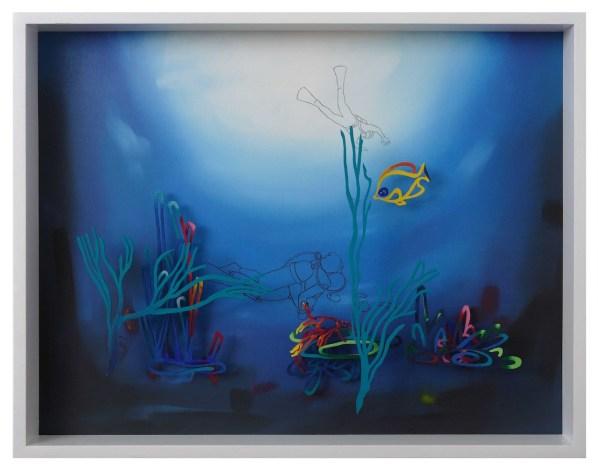 Fernando Zucchi, Alto valore naturalistico 2, 2013, cm 70x90