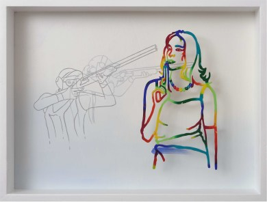 Fernando Zucchi, Il sogno di una vita 6, 2013, cm 45x60