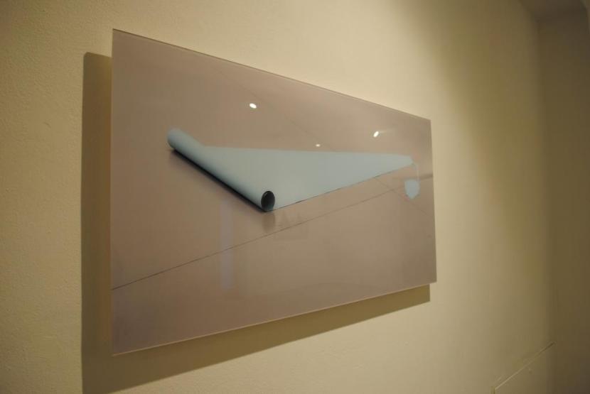 Igor Eškinja, veduta della mostra Infinity paper, Paolo Maria Deanesi Gallery, Rovereto (TN)