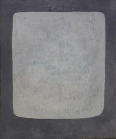 Angelo Verga, Senza titolo, 1964, olio su tela, 119x100 cm