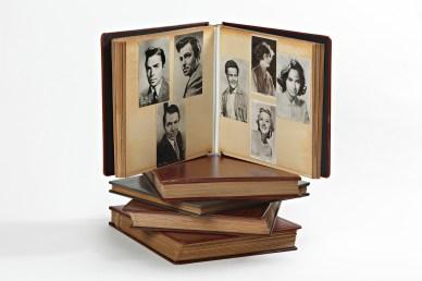Album di cartoline, raffiguranti attori e attrici, collezionate da Antonioni, Gallerie d'Arte Moderna e Contemporanea, Museo Michelangelo Antonioni, Ferrara