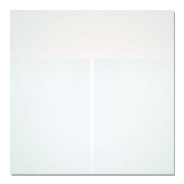 Gianfranco Zappettini, Superficie analitica n. 244, 1973, acrilico su tela + polvere di quarzo, cm 80x80