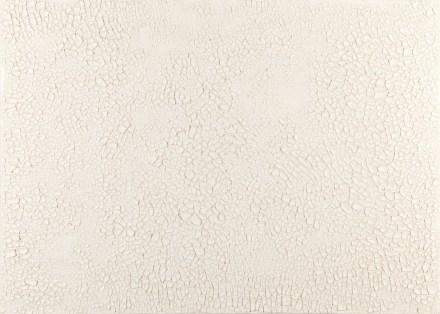 Alberto Burri, Cretto, 1977, Acrovinilico su cellotex, cm 89,5x125. © Fondazione Palazzo Albizzini Collezione Burri, Città di Castello – by SIAE 2013