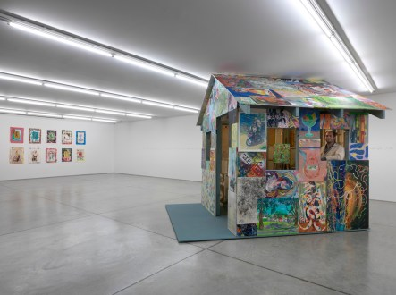 Andy Cross House Painter 2012 veduta di mostra, maggio 2013. Collezione Maramotti, Reggio Emilia. Foto: C. Dario Lasagni