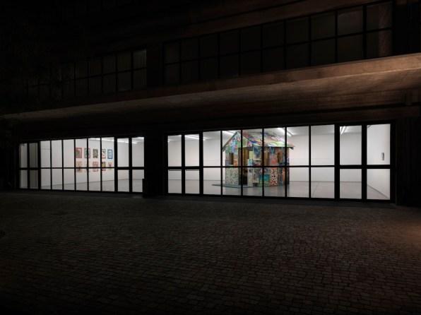 Andy Cross House Painter 2012 veduta di mostra, maggio 2013. Collezione Maramotti, Reggio Emilia. Foto: Dario Lasagni