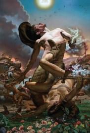 Nicola Verlato, Conquest of the west, cm 203.2x137.16