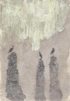 Elisa_Bertaglia_Profunde_29,5x20,5_cm_oil_charcoal_pencil_on_paper_2013
