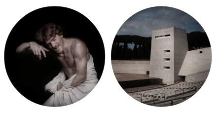 Matteo-Basilé-Landing-Lama-2012-stampa-D700-sotto-plexiglass-diametro-cm-120-cad.-dittico-Edizione-2_3-ognuna-unica-nel-formato-Courtesy-GuidiSchoen-Arte-Contemporanea-Genova