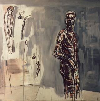 Piero Manai, 1982, 190x190 cm