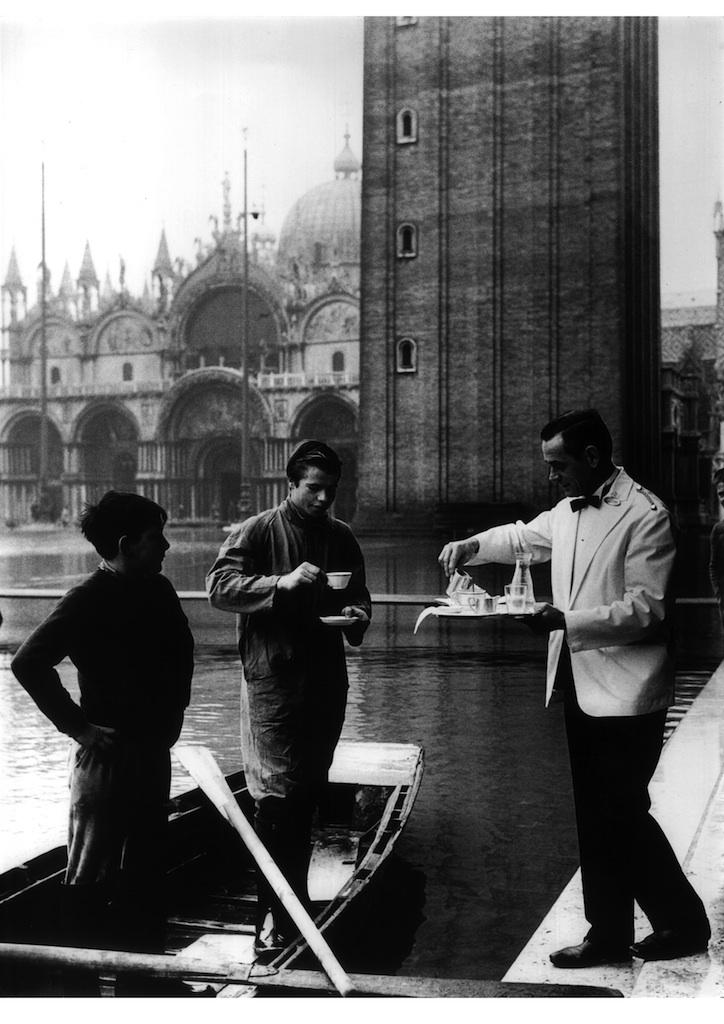Caffè Florian, Venezia, foto d'epoca
