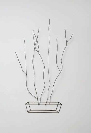 Tina Maria Nielsen, Just In Case, 2006:2013, 190x120x40 cm, ferro