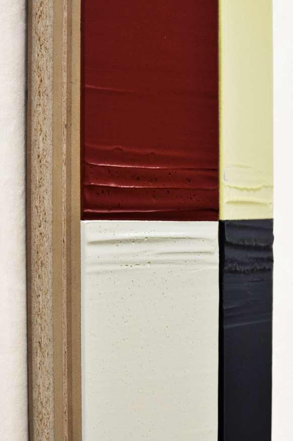 Domenico D'Oora, Painting Now, 2013, acrilico su tavole multistrato sagomate, cm 200x15x11 (particolare) Courtesy Artesilva, Seregno (MB)