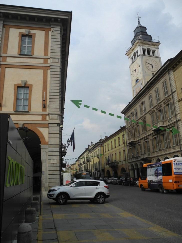 ZOOart 2013, veduta di un'installazione in mostra, Giardini Fresia e Centro storico, Cuneo