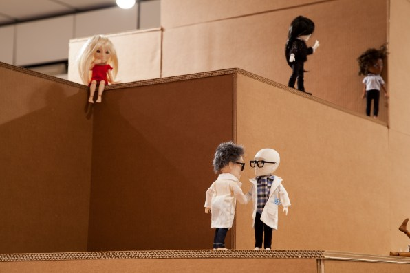 3D Printed Makie Dolls - The future is here, Design Museum, Londra