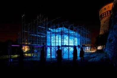 Filippo Minelli, Reality, 2013, installazione site-specific Courtesy Filippo Minelli