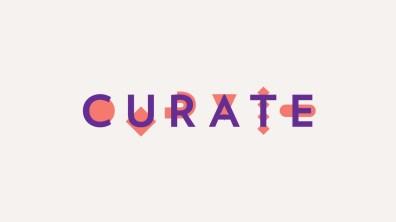 Curate, logo