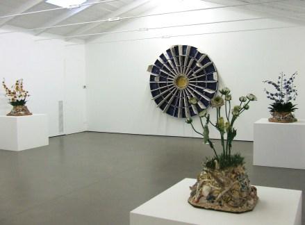 Bertozzi & Casoni, veduta della mostra alla Galleria Cardi, Pietrasanta (LU)