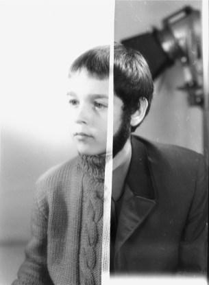 Joachim Schmid, Photogenetic Draft #4, 1991-2001, fotografia in b/n, cm 48x34 Courtesy P420, Bologna