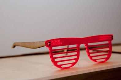 Occhiali tagliati a laser - The future is here, Design Museum, Londra