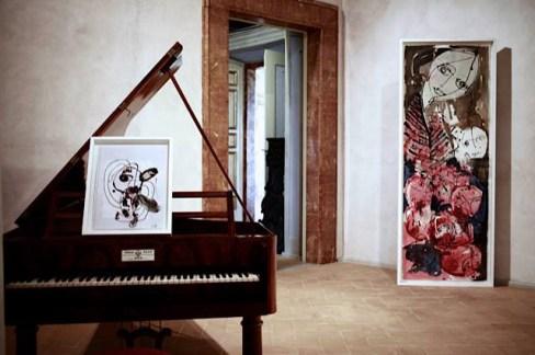 Antonio Marras+Danilo Bucchi. Insieme siamo altro, veduta della mostra, Palazzo Collicola Arti Visive, Spoleto (PG)