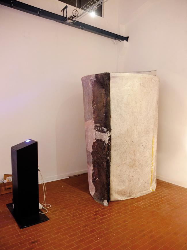 Gianluca Perna, Insertcoin, veduta dell'installazione work in progress