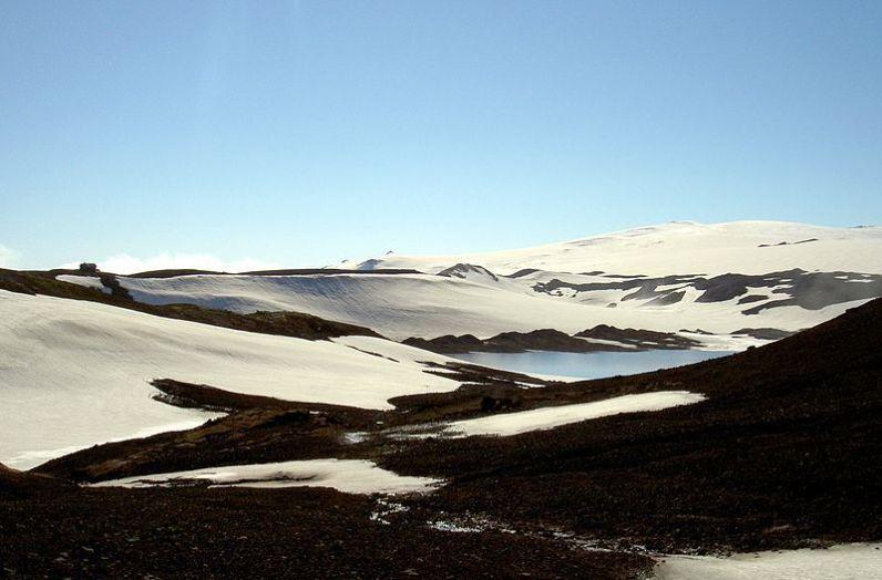 Maria Rebecca Ballestra, Journey into Fragility, Nine step in Iceland, 2013