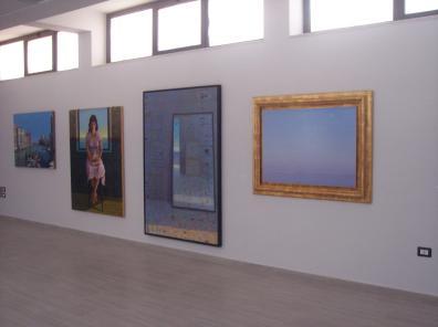 PlusUltra. LVIII Premio Termoli, veduta della mostra, Spazio Espositivo Permanente, Termoli (CB)