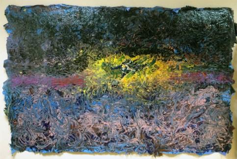 Gianluca Perna, La mia Shoah, 2012, acrilico, color sef_supporting, cm 160x230