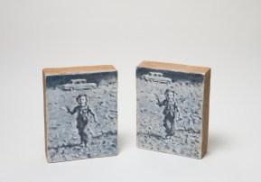 Adrian Paci Passages 2009 Acrilico e acquarelli su intonaco e terracotta cm 30 x 20 x 20 Collezione privata courtesy dell'artista e di kaufmann repetto, milano