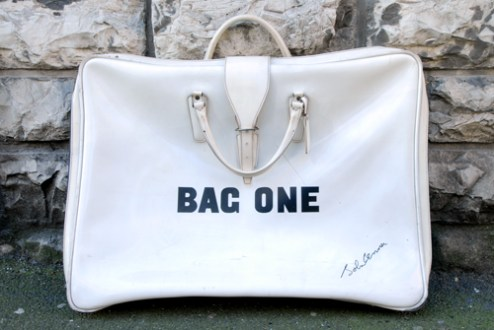 "John Lennon, ""Bag One"", 1969, serie di 14 litografie su carta BFK Rives, edizione 163:300, The Bank Street Atelier, Ldt., New York, Collezione Rolando Giambelli"