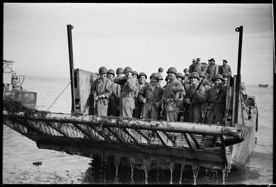 Phil Stern, Licata 1943, Photo by Phil Stern