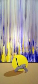 Sara Zambelli, Festina lente, tecnica mista sut ela, 2012