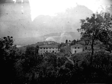 Foto d'epoca, Villa Gaeta, Moncioni, Montevarchi (AR)