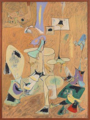 Arshile Gorky, The Betrothal, II, 1947, olio su tela, 128.9x96.5 cm, Whitney Museum of American Art, New York © 2013 The Arshile Gorky Foundation / Artists Rights Society (ARS), New York Digital Image © Whitney Museum of American Art