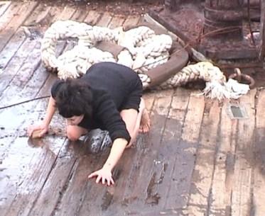 VideoArtVerona, Le lacrime degli eroi: Marzia Migliora, Efi, 2002, 3' Courtesy dell'artista e Galleria Lia Rumma Milano-Napoli