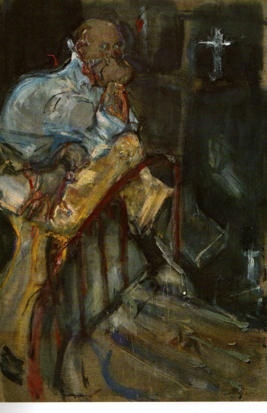 Willy Varlin, Ritratto di Testori, 1971