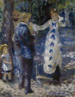 Pierre-Auguste Renoir, La balançoire, 1876, olio su tela, 92x73 cm, Musée d'Orsay, Parigi (RF 2738) © Bridgeman / Archivi Alinari