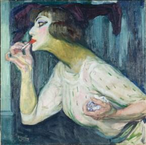 Frantisek Kupka, Il rossetto, 1908, olio su tela, 63.5x63.5 cm (AM 4167 P) © Centre Pompidou, MNAM-CCI / Jean-Claude Planchet / Dist. RMN-GP