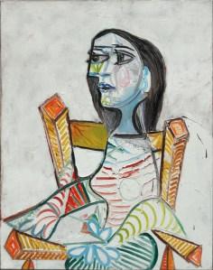 Pablo Picasso, Ritratto di donna, 1938, olio su tela, 98x77.5 cm (AM 2729 P) © Centre Pompidou, MNAM-CCI / Georges Meguerditchian / Dist. RMN-GP