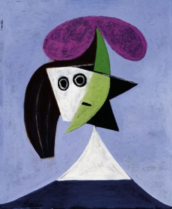 Pablo Picasso, Donna con cappello, 1935, olio su tela, 60x50 cm (AM 4393 P) © Centre Pompidou, MNAM-CCI / Georges Meguerditchian / Dist. RMN-GP