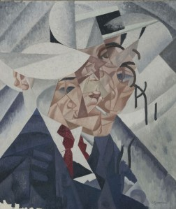 Gino Severini, Autoritratto, 1912-1960, olio su tela, 55x46.3 cm (AM 4413 P) © Centre Pompidou, MNAM-CCI / Service de la documentation photographique du MNAM / Dist. RMN-GP