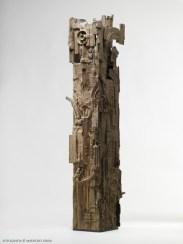 Piero Cattaneo, Piccola Stele, 1972, bronzo unico, cm 55.5x23.7x19 Foto Maurizio Grisa