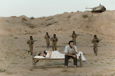 Gohar Dashti, Today's Life and War #10, 2008, inkjet print, cm 70x105, edition of 7