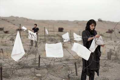 Gohar Dashti, Today's Life and War #2, 2008, inkjet print, cm 70x105, edition of 7