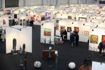 Immagina Arte in Fiera, veduta ed. 2012