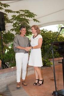Maddalena Nocivelli insieme a Isabella Nurigiani vincitrice categoria OVER 25